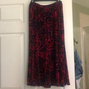 Ladies Chico's long skirt
